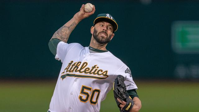 The A's send Mike Fiers to the hill as they look to bounce back from their series-opening loss to the Blue Jays.