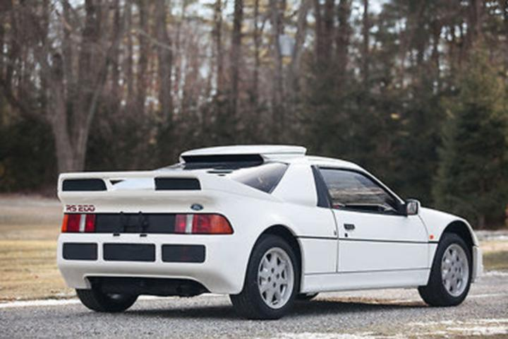 1986-ford-rs200-sa3 & Unicorns Exist: A Rare Ford RS200 Supercar is Up for Sale markmcfarlin.com