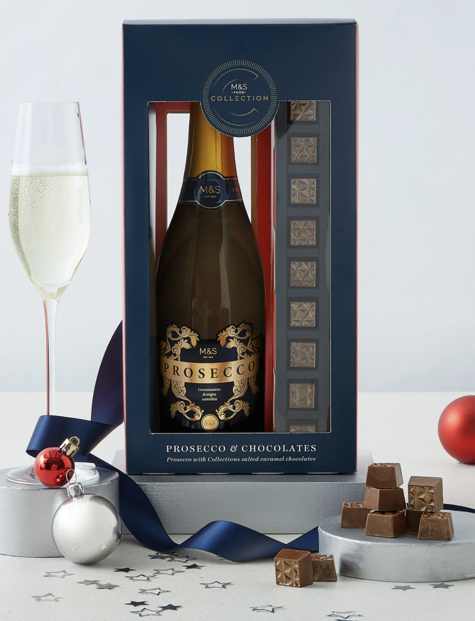 Collection Prosecco & Salted Caramels from Marks & Spencer