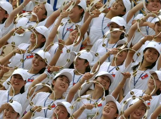 <p>North Korea's 'army of beauties' set to invade South</p>