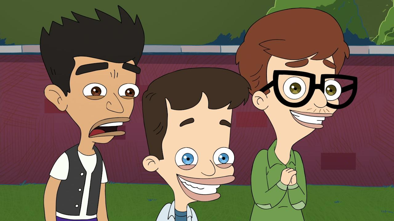 "<p><strong>Big Mouth </strong>follows the pubescent dramas of Nick and Andrew, two middle schoolers voiced by Nick Kroll and John Mulaney. It's a concoction of family drama, adolescent woes, raging hormones, and fast, quirky comedy that makes it a great watch for anyone who enjoys <strong>The Politician</strong>. Except there are more raunchy jokes. Lots more. </p> <p><a href=""https://www.netflix.com/title/80117038"" target=""_blank"" class=""_e75a791d-denali-editor-page-rtfLink ga-track"" data-ga-category=""Related"" data-ga-label=""https://www.netflix.com/title/80117038"" data-ga-action=""In-Line Links"">Watch it here. </a></p>"