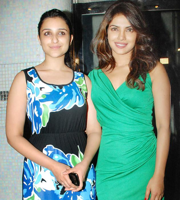 Priyanka recently threw a party for Parineeti on the success of her latest release