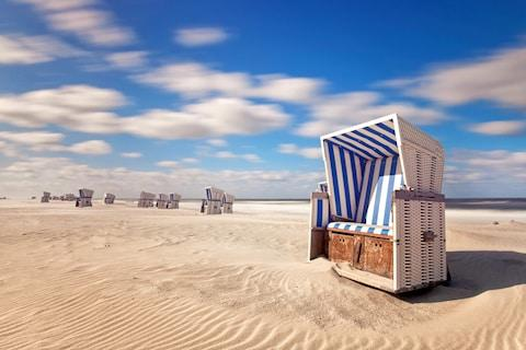 A strandkorb beach chair - Credit: GETTY