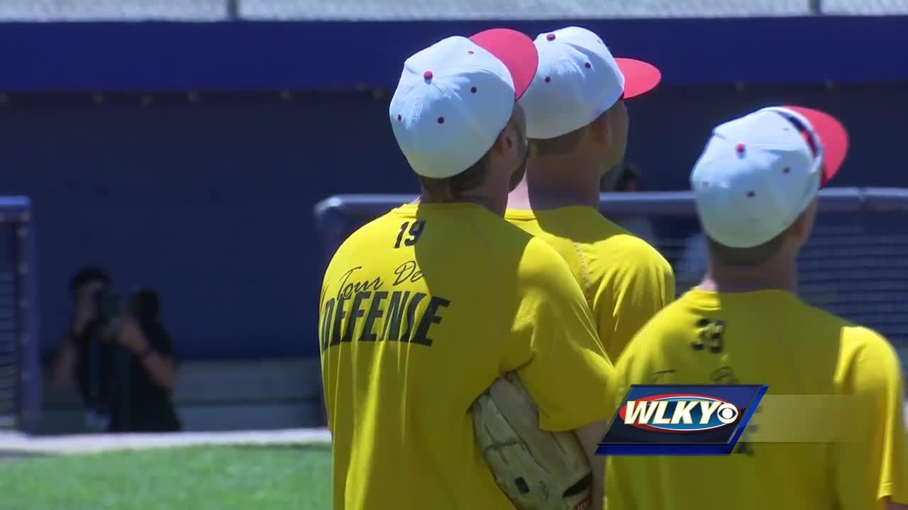 Louisville is staying in the winners bracket of the College World Series after a win over Texas A&M.