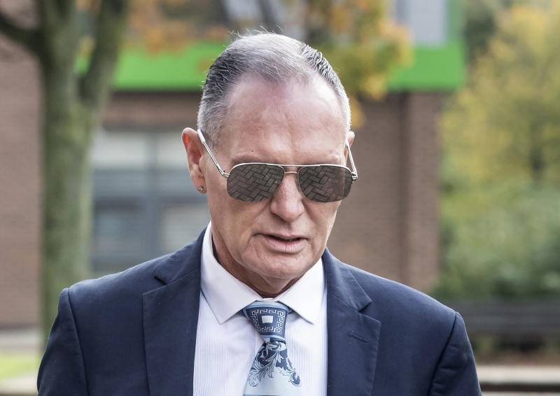 Paul Gascoigne train kiss trial: Star in 'drunken state' when arrested