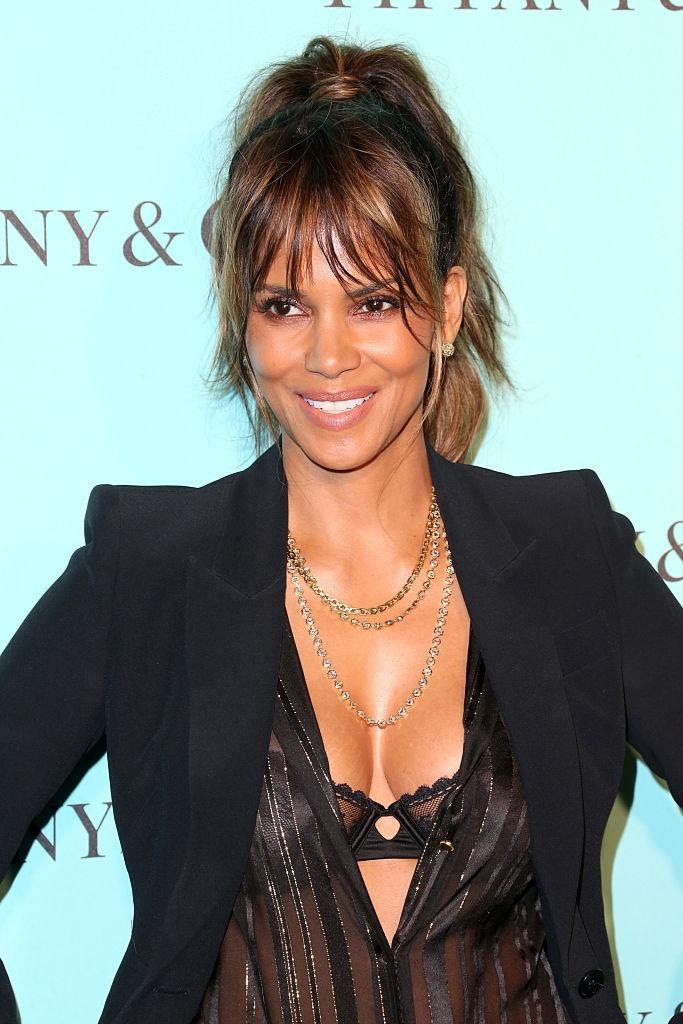 <p>Berry gave birth to her 'miracle' son Maceo aged 47 [Photo: Getty] </p>