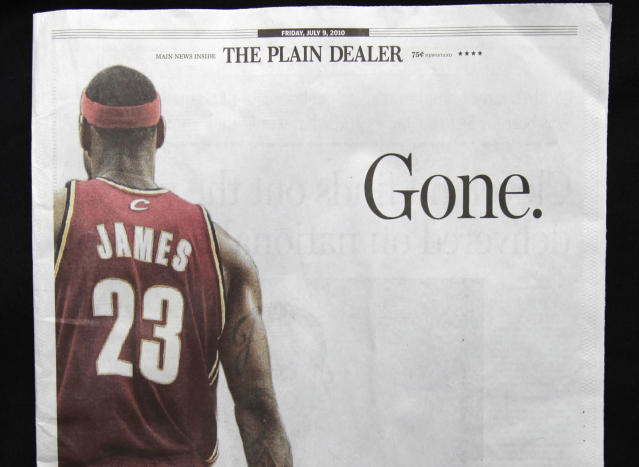 "<p>LeBron's ""The Decision"" is still one of the defining moments of his career and the NBA landscape in the last decade. When he decided to take his talents to South Beach, he not only left the team he'd led back to prominence, he also broke the heart of the city and community where he grew up. Fortunately for Cavaliers fans, four years later he returned to the team that originally drafted him and brought home the franchise's first NBA championship in 2016. </p>"