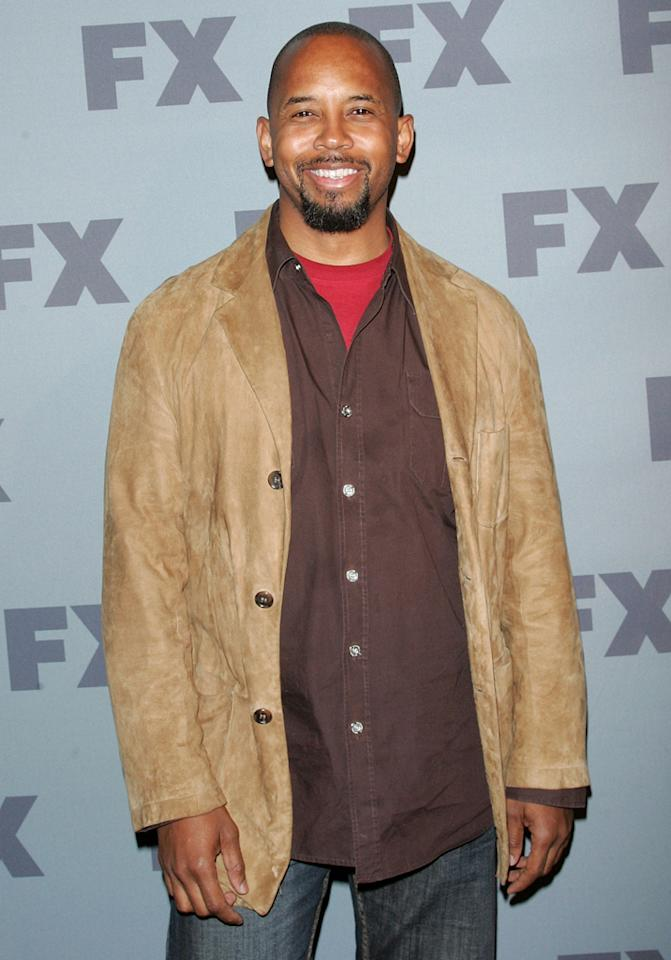 """Michael Boatman (""""<a href=""""http://tv.yahoo.com/anger-management/show/48408"""">Anger Management</a>"""") attends FX's 2012 Upfronts at Lucky Strike on March 29, 2012 in New York City."""