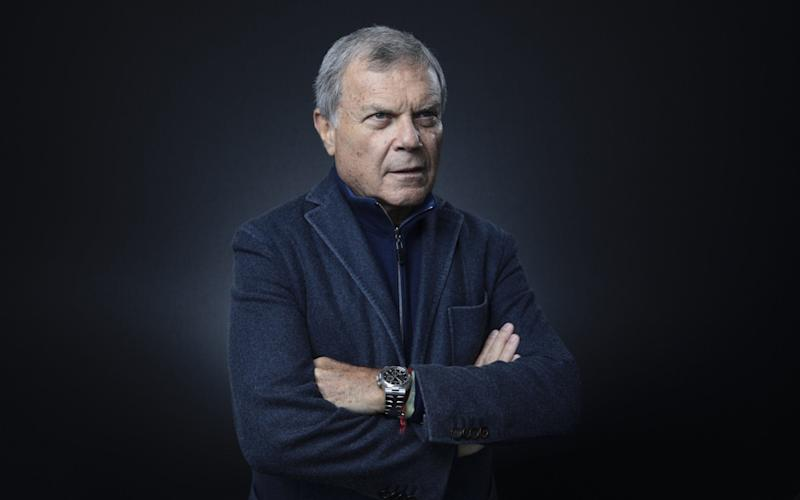 Sir Martin Sorrell was the longest running boss of a FTSE 100 company - Bloomberg