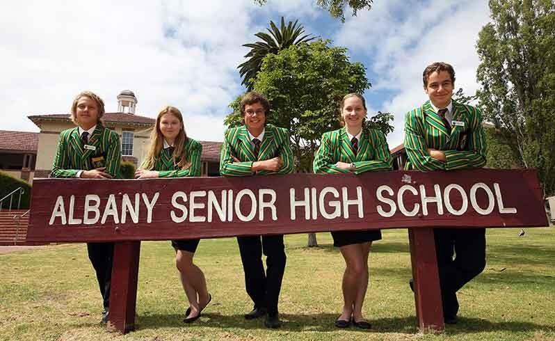 Albany school comes out tops