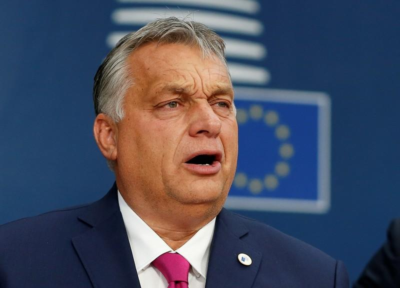 Hungary's ruling Fidesz could quit European conservative bloc - Orban