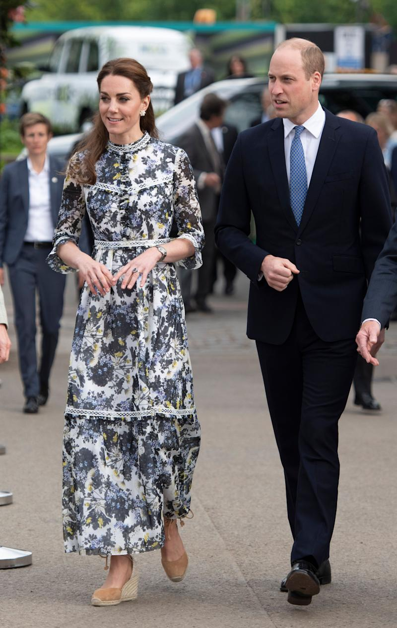 This dress, which she wore to the Chelsea Flower Show preview, is by British-Canadian designer Erdem.