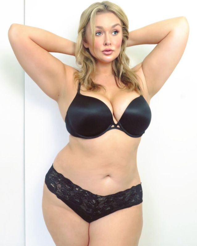 Model Hunter McGrady wants every woman to feel beautiful. (Photo: Instagram/Hunter McGrady)