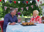 """<p>All bakers are picked up in the morning from their (paid for) accommodation and are transported to the tent for filming. After the day is completed, they pile onto the bus again, are given back their phones, and <a href=""""https://www.express.co.uk/celebrity-news/1185837/Great-British-Bake-Off-2019-karen-wright-contestants-rules-news"""" rel=""""nofollow noopener"""" target=""""_blank"""" data-ylk=""""slk:taken back to the hotel"""" class=""""link rapid-noclick-resp"""">taken back to the hotel</a>. </p>"""