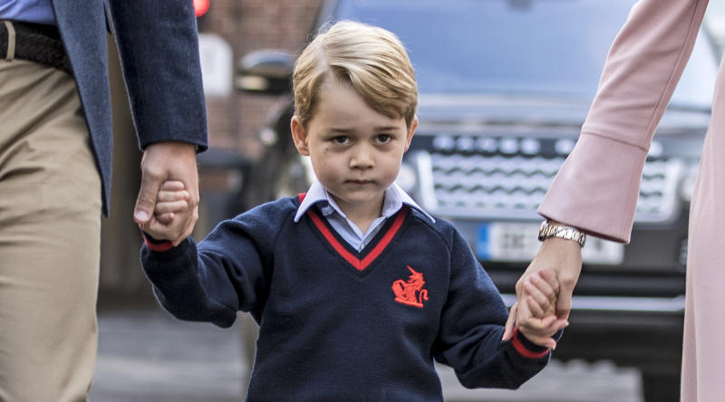 TV host apologises for 'insensitive comment' about Prince George ballet class