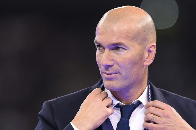 Real Madrid's French coach Zinedine Zidane is pictured after Real Madrid won the UEFA Champions League final football match against Juventus June 3, 2017