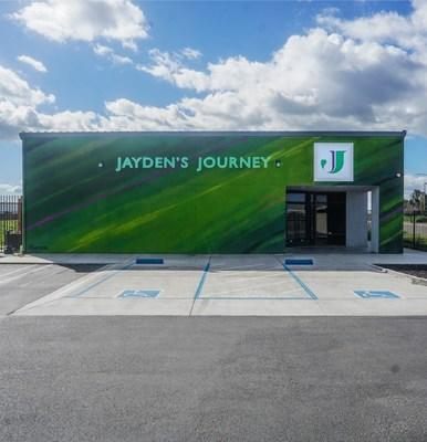 Jayden's Journey Ceres retail dispensary, located at 4030 Farm Supply Dr, Ceres, CA 95307 (CNW Group/TPCO Holding Corp.)