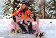 <p>What's cuter than young Princesses Beatrice and Eugenie in matching pink ski gear while on vacation with their mom, Sarah Ferguson, Duchess of York, in Switzerland?</p>