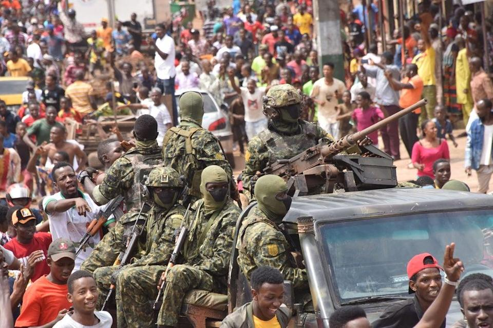 The coup occurred in Guinea just over one week ago  (AFP via Getty Images)