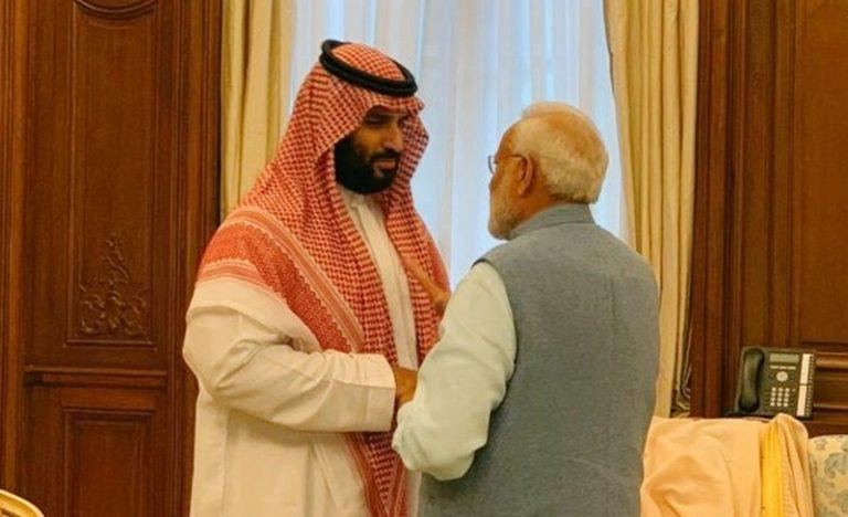 Image result for PM Modi Meets Saudi Crown Prince, Investments, Defence Ties Discussed