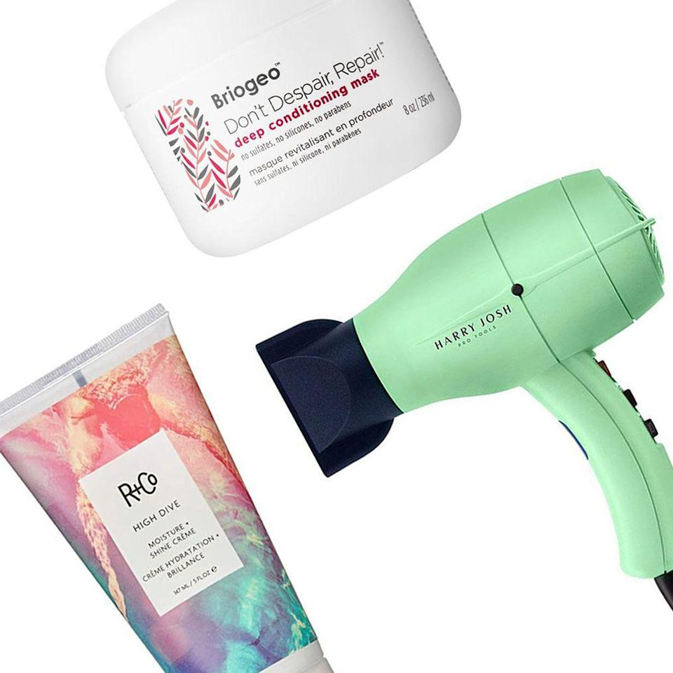 """<p class=""""body-dropcap"""">National Hair Day is upon us, and whether or not you knew this was a holiday, Dermstore is giving us a reason to be excited. The luxe beauty retailer is holding a haircare sale for three days <em>only</em> and the discounts are massive. Think: 25 percent off all <a href=""""https://www.dermstore.com/profile_Briogeo_502970.htm"""" rel=""""nofollow noopener"""" target=""""_blank"""" data-ylk=""""slk:Briogeo"""" class=""""link rapid-noclick-resp"""">Briogeo</a>, <a href=""""https://www.dermstore.com/profile_VIRTUE+_505675.htm"""" rel=""""nofollow noopener"""" target=""""_blank"""" data-ylk=""""slk:Virtue"""" class=""""link rapid-noclick-resp"""">Virtue</a>, and <a href=""""https://www.dermstore.com/list_checkbox.php?search&lkey=christophe+robin&keyword=christophe+robin"""" rel=""""nofollow noopener"""" target=""""_blank"""" data-ylk=""""slk:Christophe Robin"""" class=""""link rapid-noclick-resp"""">Christophe Robin</a>, and 20 percent off other cult-favorite lines, such as <a href=""""https://www.dermstore.com/profile_Living+Proof+_505670.htm"""" rel=""""nofollow noopener"""" target=""""_blank"""" data-ylk=""""slk:Living Proof"""" class=""""link rapid-noclick-resp"""">Living Proof</a> and <a href=""""https://www.dermstore.com/profile_Harry+Josh+Pro+Tools_502561.htm?keyword=harry+josh"""" rel=""""nofollow noopener"""" target=""""_blank"""" data-ylk=""""slk:Harry Josh"""" class=""""link rapid-noclick-resp"""">Harry Josh</a>, among many more.</p><p>Because many of us are still working remotely, the timing of Dermstore's Hair Sale couldn't be better. It's the ideal time to lean into learning how to work with your natural hair. (I'm looking at you, fellow curly hair types.) And yes, the audience size of those seeing our hair is undoubtedly smaller these days, but the pure joy of a good hair day is something we all deserve to still savor. </p><p>Because we realize that navigating a stacked beauty sale can be a gray-hair-inducing pursuit in itself, we went ahead and made things easier for you by rounding up the products we recommend adding to your cart before the sale ends on October 3.</p>"""