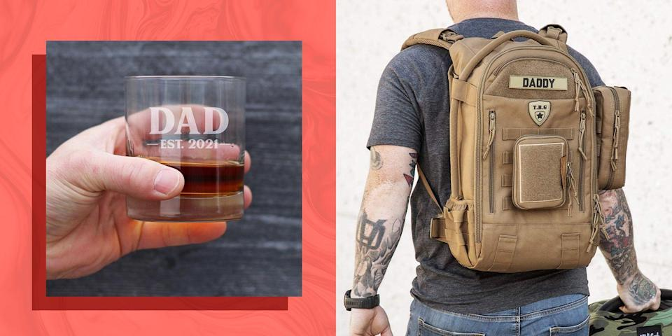 """<p>Celebrating a dad's <a href=""""https://www.bestproducts.com/fathers-day/"""" rel=""""nofollow noopener"""" target=""""_blank"""" data-ylk=""""slk:first Father's Day"""" class=""""link rapid-noclick-resp"""">first Father's Day</a> is a big deal, and everyone wants it to be special. Because of that there's a lot of pressure to pick just the right gift for that very first year. Do you go with something classic, like a tie or grilling tools? Or do you go with something personal, or even funny?</p><p>Obviously, a big part of how you choose what to buy will depend on the dad you're buying for. If the dad is your partner, something personal and sentimental makes sense. If it's for your brother, funny might win. And if it's a coworker? You're probably sticking to something safe. Don't fret, because we have found the best first Father's Day gifts for every type of dad.</p>"""