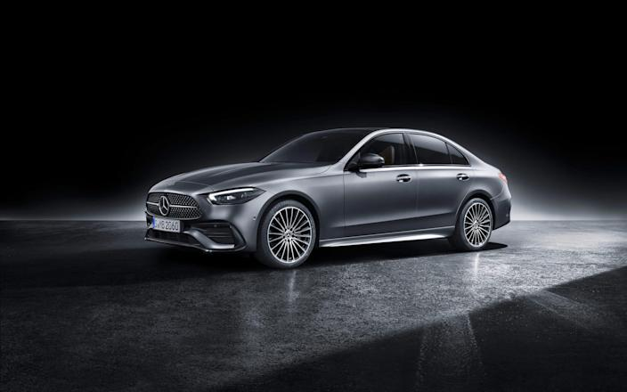 2022 Mercedes Benz C Class sedan._3