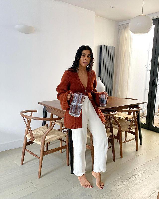 """<p>There should be nothing between you and your knitwear, not even a bra.</p><p><a class=""""link rapid-noclick-resp"""" href=""""https://go.redirectingat.com?id=127X1599956&url=https%3A%2F%2Fwww.stories.com%2Fen_gbp%2Fclothing%2Fknitwear%2Fcardigans%2Fproduct.relaxed-alpaca-blend-rib-cardigan-white.0973880002.html&sref=https%3A%2F%2Fwww.elle.com%2Fuk%2Ffashion%2Fg29844296%2Fcasual-clothes%2F"""" rel=""""nofollow noopener"""" target=""""_blank"""" data-ylk=""""slk:SHOP NOW"""">SHOP NOW</a></p><p><a href=""""https://www.instagram.com/p/CJQfwfnhLxp/"""" rel=""""nofollow noopener"""" target=""""_blank"""" data-ylk=""""slk:See the original post on Instagram"""" class=""""link rapid-noclick-resp"""">See the original post on Instagram</a></p>"""