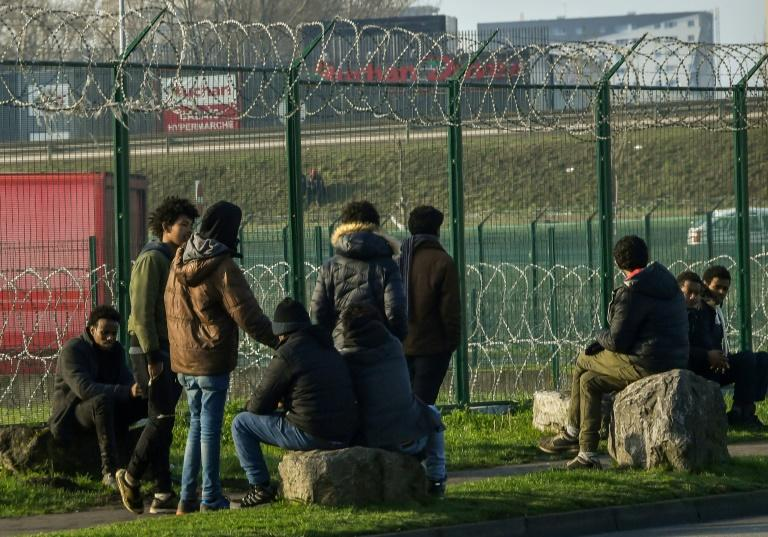Migrants regularly attempt to reach British shores from Calais
