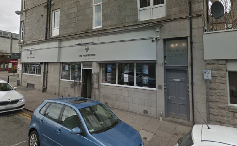 The cluster of 32 cases is linked to the Hawthorn Bar in Aberdeen. (Google)