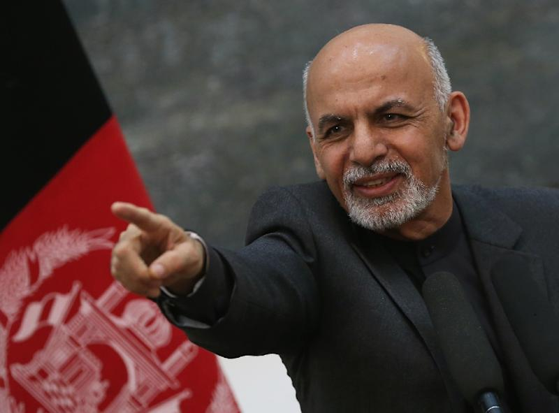 The Taliban's muted response to Afghan President Ashraf Ghani's offer of peace talks last month reflects an internal debate over the merits of engaging with a government that the group has long viewed as illegitimate, analysts say (AFP Photo/MARK WILSON)