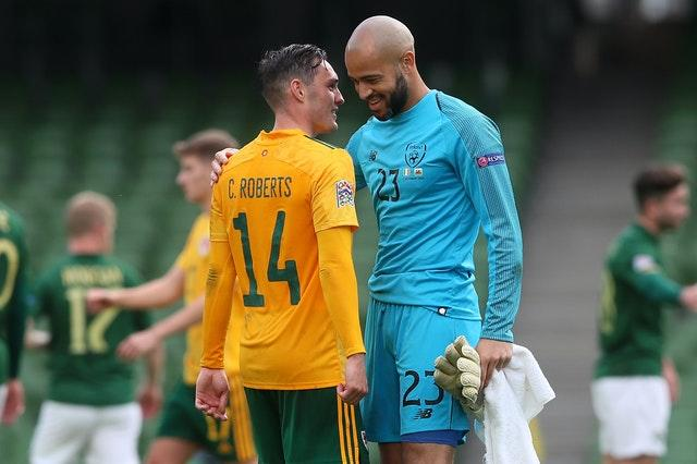 Republic of Ireland goalkeeper Darren Randolph might have conceded a first-half penalty