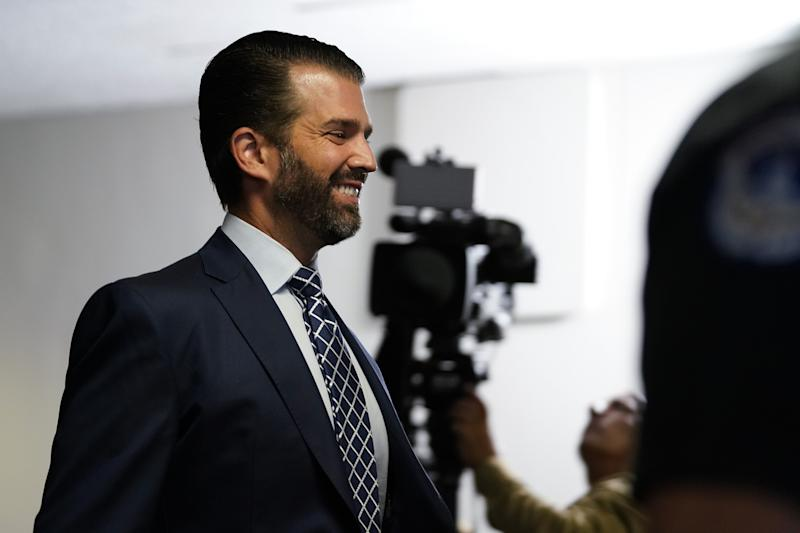 Trump Jr. Says He Has 'Nothing to Correct'in His Senate Testimony