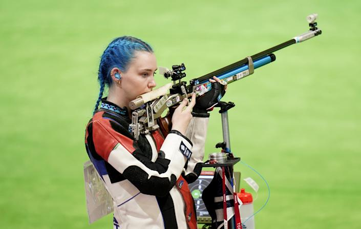 Seonaid McIntosh finished 12th in the women's 10 metre air rifle qualification at the Tokyo Olympics (Danny Lawson/PA) (PA Wire)