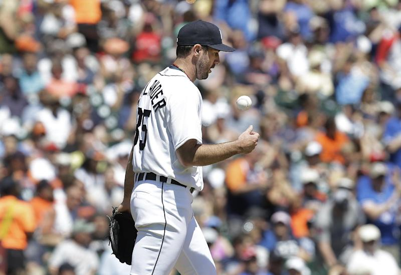Verlander, Tigers lose 7-3 to Blue Jays