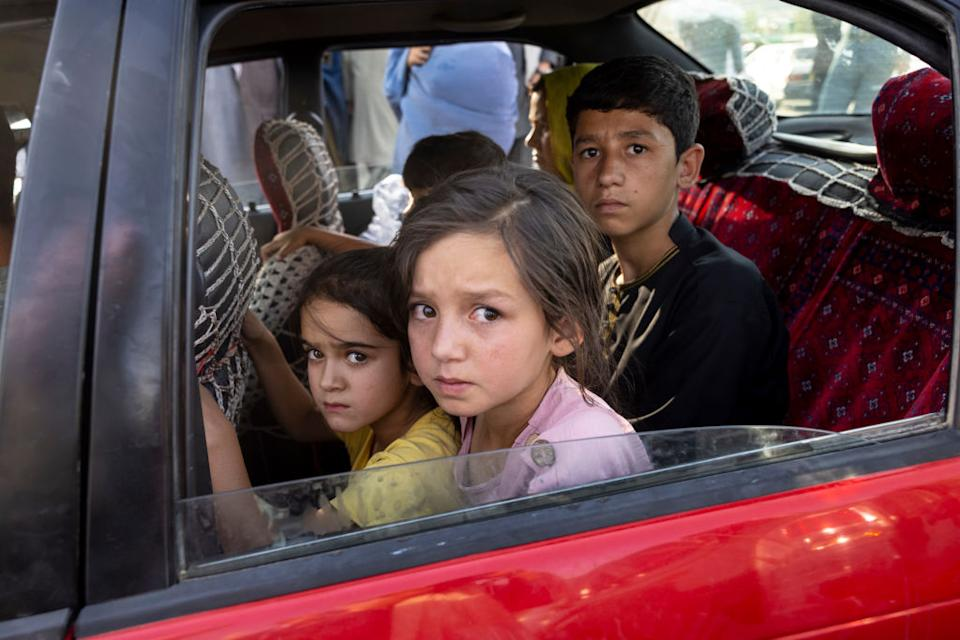 Thousands of Afghans are continuously displaced across the country as UNICEF calls for more protection for the nation's children. Source: Getty