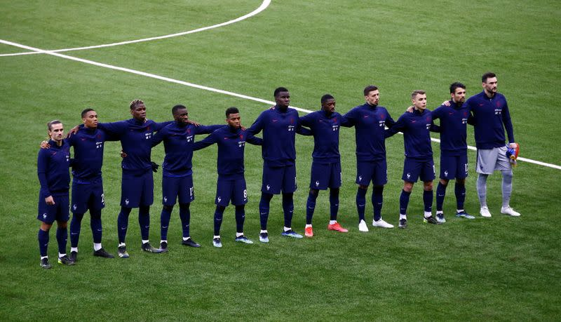 FILE PHOTO: World Cup Qualifiers Europe - Group D - Kazakhstan v France