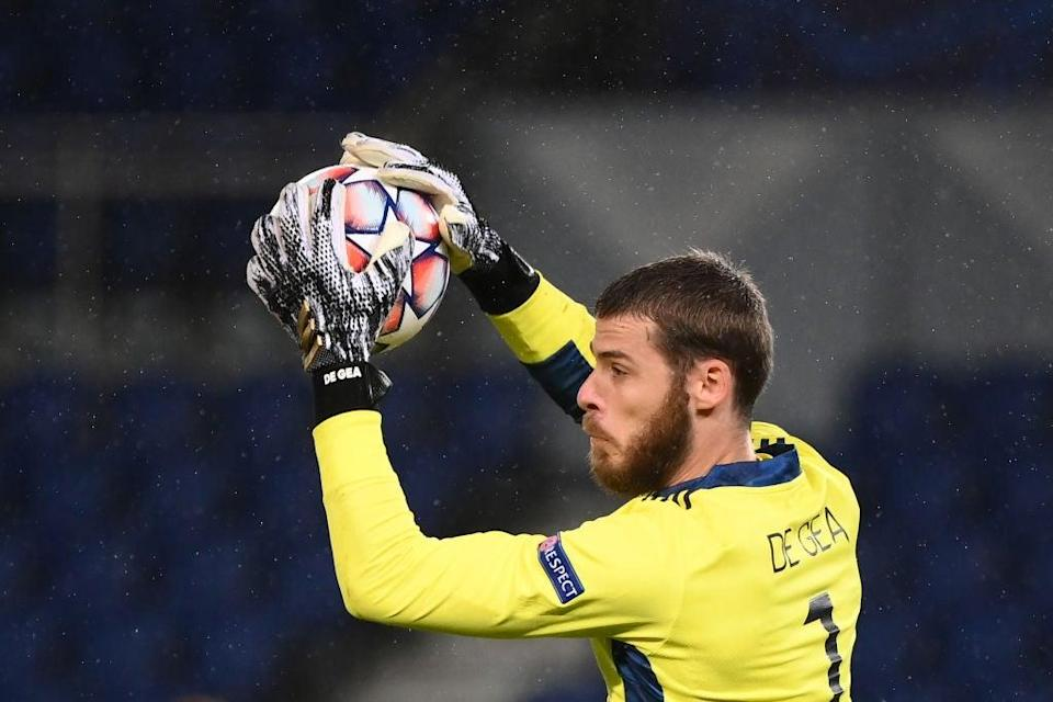 David de Gea ha mejorado esta temporada (AFP via Getty Images)
