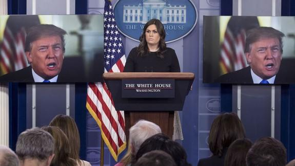 Sarah Sanders whacks Comey: 'Dangerous,' 'doesn't have credibility'