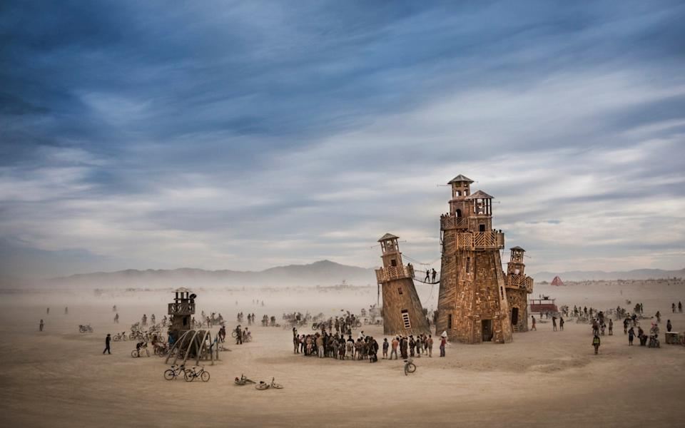 burning man - Tom Stahl
