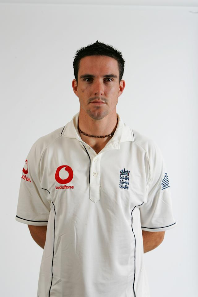 LONDON - MAY 15: Kevin Pietersen of England at Lord's on May 15, 2007 in London, England. (Photo by Mike Hewitt/Getty Images)