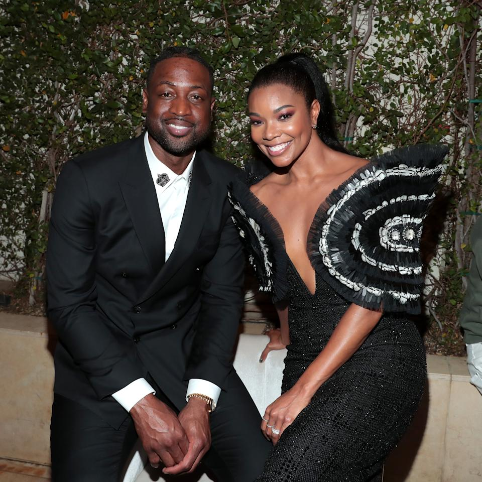"""LOS ANGELES, CALIFORNIA - MAY 10: (L-R) Dwyane Wade and Gabrielle Union attend Spectrum Originals and Sony Pictures Television Premiere Party for """"L.A.'s Finest"""" at Sunset Tower on May 10, 2019 in Los Angeles, California. The series premieres on Monday, May 13. (Photo by Rich Polk/Getty Images for Sony Pictures Television/Spectrum Originals)"""