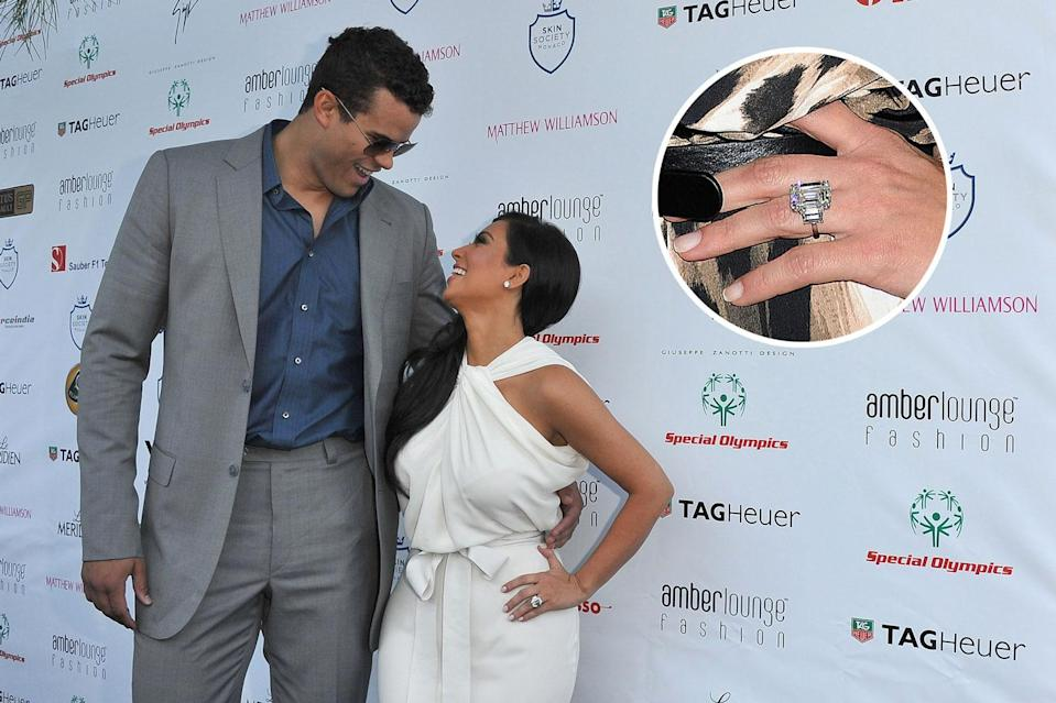 Kris Humphries and Kim Kardashian were married for 72 days. (Photo: Getty Images)