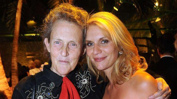 PHOTO: Temple Grandin and actress Claire Danes attend HBO's Annual Emmy Awards after party at the Pacific Design Center on Aug. 29, 2010 in West Hollywood, Calif. (Jeff Kravitz/FilmMagic via Getty Images, FILE)