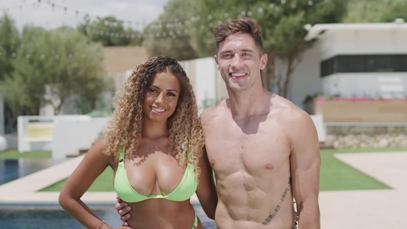 Amber Gill and Greg O'Shea were crowned winners of the latest series of Love Island (Photo: ITV)