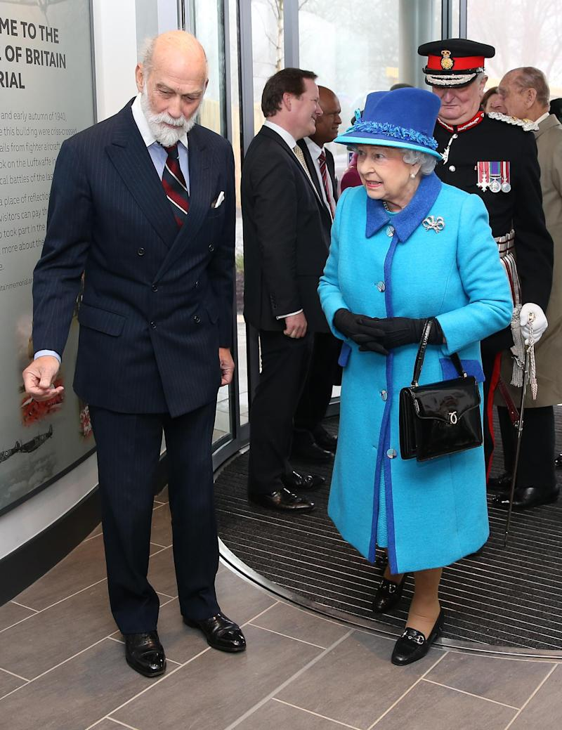Prince Michael of Kent with Queen Elizabeth (Getty Images)