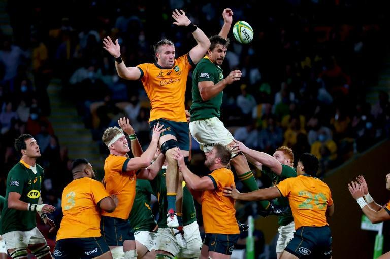 Australia made it two-out-of-two wins against South Africa (AFP/Patrick HAMILTON)