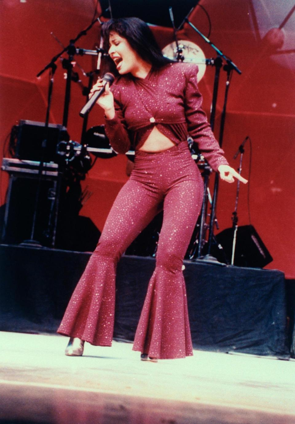 "<strong><h2>Selena</h2></strong>If you can withstand the memory of the late singer Selena without crying, I commend you. You will also be pleased to know that this costume is <u><a href=""https://www.costumeish.com/products/adult-latina-pop-star-costume?utm_medium=cpc&utm_source=googlepla&variant=8786820739"" rel=""nofollow noopener"" target=""_blank"" data-ylk=""slk:readily available online"" class=""link rapid-noclick-resp"">readily available online</a></u>.<span class=""copyright"">Photo: Arlene Richie/Media Sources.</span>"