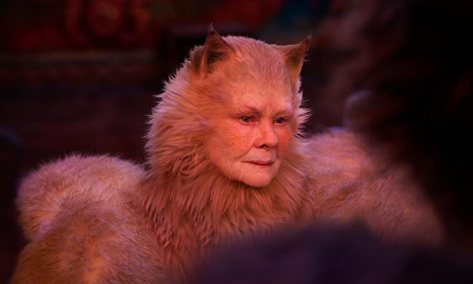 Judi Dench en el primer tráiler de Cats ((c) 2019 Universal Pictures. All Rights Reserved.)