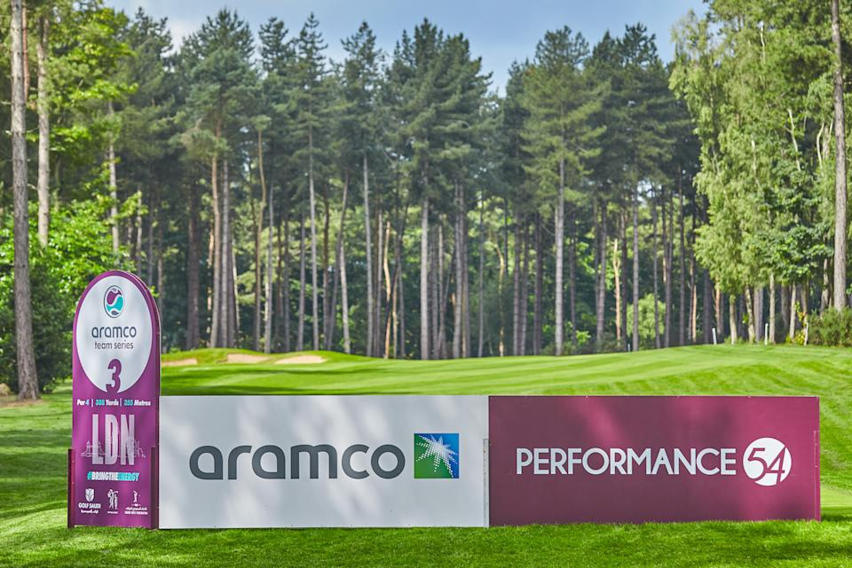 London plays host to the first leg of the Aramco Team Series, with the next legs set to take place in USA, Spain and Saudi Arabia